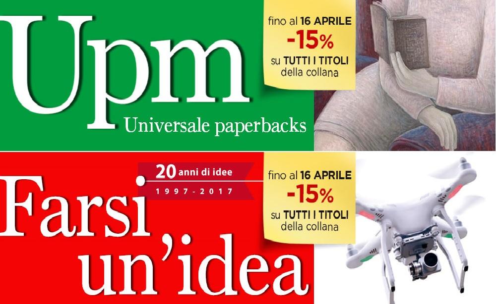 Promozioni in Libreria: tutti i titoli delle collane UPM e Farsi un'idea - Mulino - al 15% di sconto