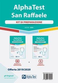 Alpha Test San Raffaele. Per l'ammissione a Medicina, Odontoiatria, Professioni sanitarie. Kit di preparazione: Manuale di preparazione-Esercizi commentati