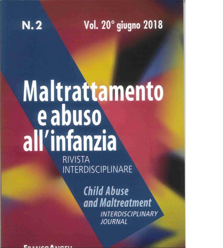 Maltrattamento E Abuso All`infanzia n.20 2/2018