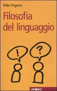 Filosofia del linguaggio