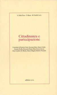 Cittadinanza e partecipazione