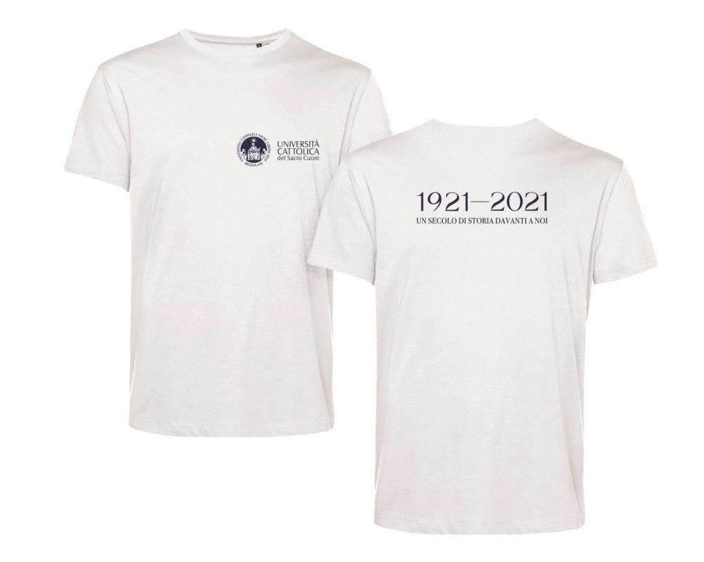 T-shirt E150 Organic Bianco Centenario M