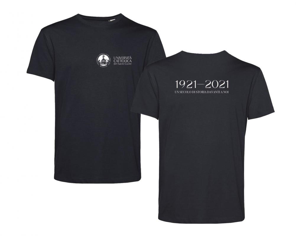 T-shirt E150 Organic Blu Centenario M
