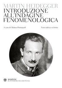 Introduzione all'indagine fenomenologica. Testo tedesco a fronte
