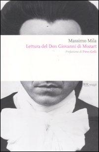 Lettura del Don Giovanni di Mozart