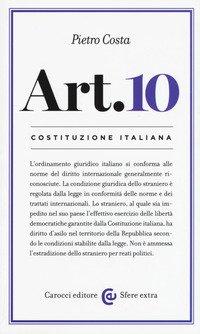 Costituzione italiana: articolo 10