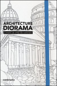 Architecture diorama. 3 metri di città da colorare
