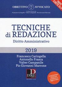Tecniche di redazione. Diritto amministrativo