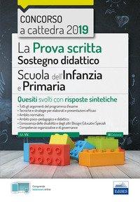 La prova scritta sostegno didattico per la scuola dell'infanzia e primaria