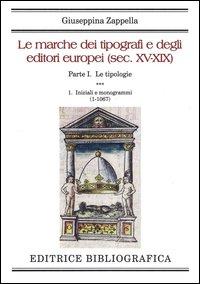 Le marche dei tipografi e degli editori europei