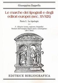 Le marche dei tipografi e degli editori italiani (sec. XV-XIX)