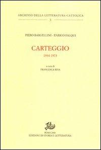Carteggio 1934-1973