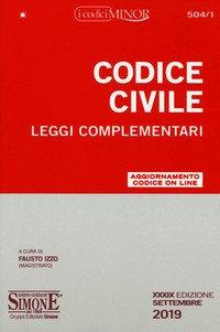 Codice civile e leggi complementari. Ediz. minor