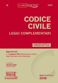 Codice civile. Leggi complementari