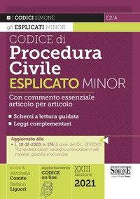 Codice di procedura civile esplicato. Ediz. minor
