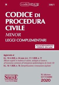 Codice di procedura civile. Leggi complementari. Ediz. minor