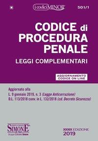 Codice di procedura penale. Leggi complementari. Ediz. minor