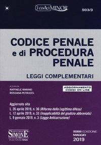 Codice penale e di procedura penale. Leggi complementari