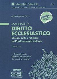 Manuale di diritto ecclesiastico. Chiese, culti e religioni nell'ordinamento italiano