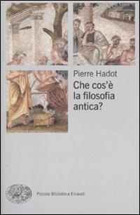 Che cos'è la filosofia antica?