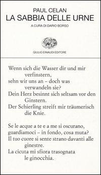 La sabbia delle urne. Testo tedesco a fronte