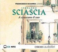 A ciascuno il suo letto da Francesco Scianna. Audiolibro. CD Audio formato MP3