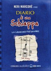 Diario di una schiappa. La legge dei più grandi letto da Neri Marcorè. Audiolibro. CD Audio formato MP3