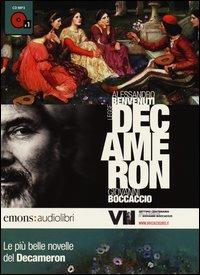 Le più belle novelle del Decamerone lette da Alessandro Benvenuti. CD Audio formato MP3