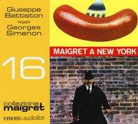 Maigret a New York letto da Giuseppe Battiston. Audiolibro. CD Audio formato MP3