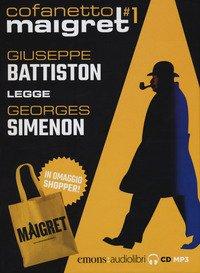 Maigret letto da Giuseppe Battiston. Audiolibro. 4 CD Audio formato MP3