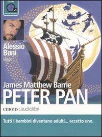 Peter Pan letto da Alessio Boni. Audiolibro. CD Audio formato MP3