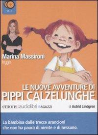 Pippi Calzelunghe. Seconda parte letto da Marina Massironi. Audiolibro. 3 CD Audio