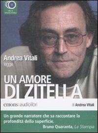 Un amore di zitella letto da Andrea Vitali. Audiolibro. 3 CD Audio