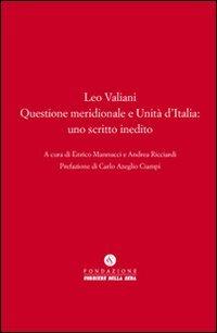Questione meridionale e Unità d'Italia