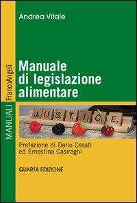 Manuale di legislazione alimentare