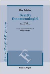 Scritti fenomenologici