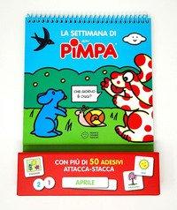 La settimana di Pimpa. Con adesivi