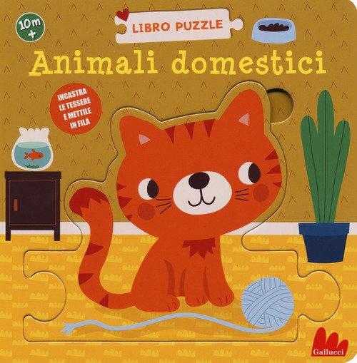 Animali domestici. Libro puzzle
