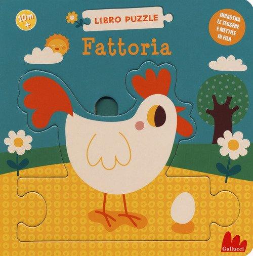 Fattoria. Libro puzzle