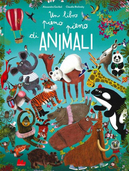 Un libro pieno pieno di animali