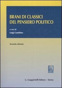 Brani di classici del pensiero politico