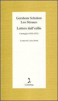 Lettere Dall`esilio. Carteggio (1933-1973)