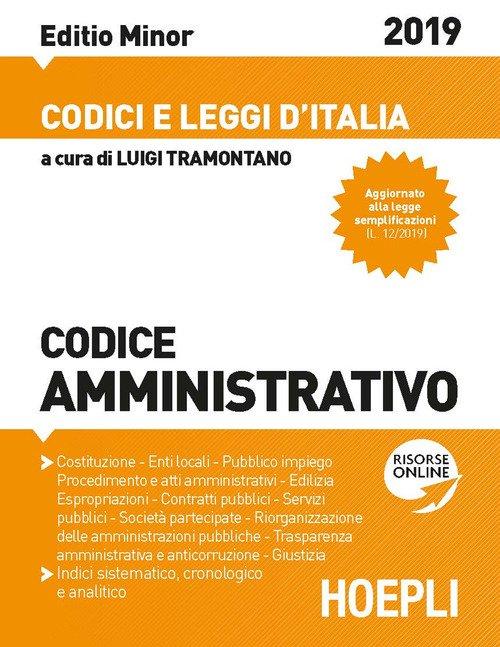 Codice amministrativo 2019. Ediz. minore