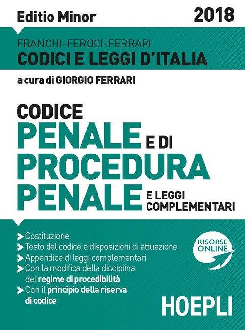 Codice penale e procedura penale 2018. Ediz. minore
