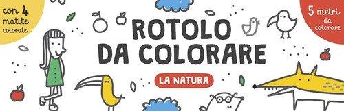 La natura. Rotolo da colorare