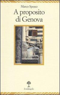 A proposito di Genova