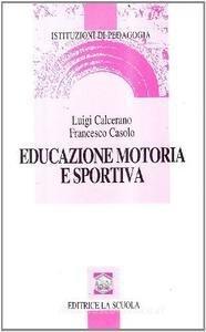 Educazione motoria e sportiva