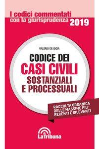 Codice dei casi civili sostanziali e processuali