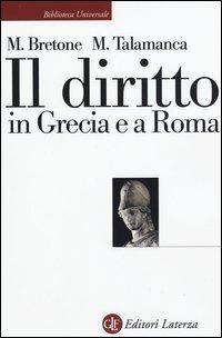 Il diritto in Grecia e a Roma