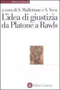 L'idea di giustizia da Platone a Rawls